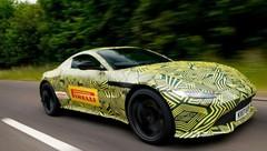 Aston Martin V8 Vantage 2018 : elle roule déjà !