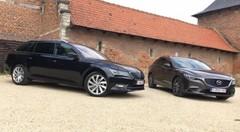 Essai Mazda 6 Wagon 2.0 l vs Skoda Superb Combi 1.4 TSI : La revanche de l'outsider ?