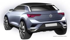 Volkswagen T-Roc : les premiers dessins