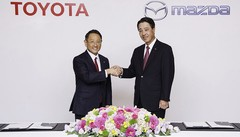 Toyota et Mazda, un partenariat qui se renforce