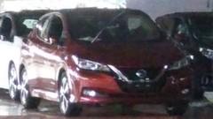 Nissan Leaf 2018 : chiffres et images