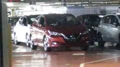 La future Nissan Leaf totalement nue dans son usine