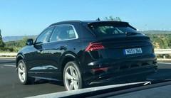 L'Audi Q8 sans camouflage