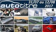 Résumé Auto Titre du 31 juillet au 12 août 2017