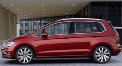 L'heure du restylage pour la VW Golf Sportsvan