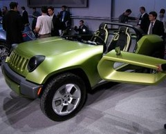 Jeep Renegade Concept : Buggy hybride Diesel