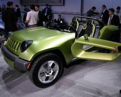 Jeep Renegade Concept : Buggy hybride Diesel