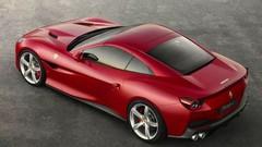 Ferrari Portofino avant la dolce vita à Portofino