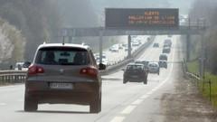 Pollution : l'exécutif veut renforcer le malus automobile