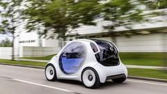 Smart Vision EQ Fortwo : autonome autopartagée