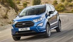 Ford Ecosport 2017 : nouveau diesel, 4x4 et version ST Line au menu