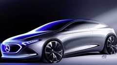 Mercedes EQA Concept : 1re illustration