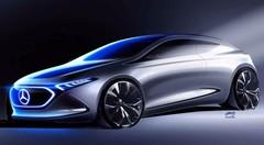 Le concept Mercedes EQA en montre un peu plus