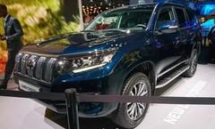 Toyota Land Cruiser 2017 : restylage et nouveaux équipements au menu