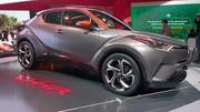Toyota C-HR Hy-Power : un C-HR hybride plus puissant pour 2018