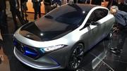 Mercedes EQA Concept : la première compacte électrique de Mercedes