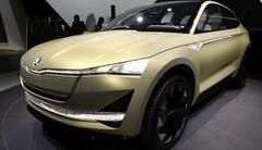 Skoda Vision E : le SUV électrique à Francfort
