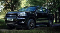 Ford présente le pick-up Ranger Black Edition à Francfort