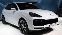 Porsche Cayenne Turbo : première apparition à Francfort