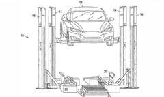 Tesla : nouveau brevet pour un système d'échange de batterie