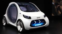 Smart Vision EQ Concept : le futur de l'autopartage ?