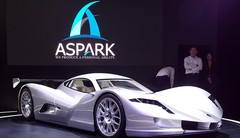 Aspark Owl électrique : de 0 à 100 km/h en 2 secondes