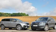 Essai Peugeot 5008 et Skoda Kodiaq : ils veulent la peau des monospaces