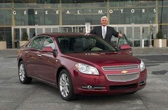 Chevrolet Malibu : la voiture de l'année 2008 aux Etats-Unis