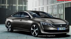 La future Peugeot 508 commence à révéler ses secrets