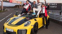 La Porsche 911 GT2 RS affole les chronos au Nürburgring