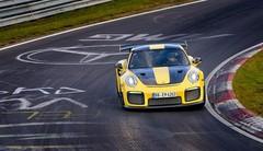 Porsche 911 GT2 RS : 6 min 47,3 s sur le Nürburgring