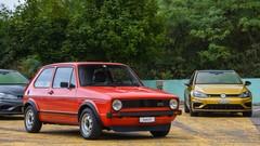 En piste avec les Volkswagen Golf R et Golf GTI TCR