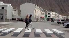 Islande : un passage piéton révolutionnaire