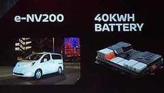 Le Nissan e-NV200 voit sa batterie augmentée à 40 kWh
