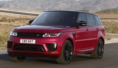 Range Rover Sport 2018 : un lifting et une version hybride rechargeable