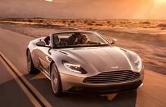 Aston Martin DB11 Volante : avant-goût de printemps