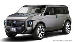 TJ Cruiser : look industriel pour ce concept Toyota hybride