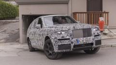 Rolls Royce Cullinan, photos et vidéo espions du plus luxueux des SUV