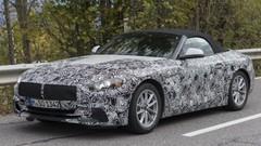 BMW Z4 (2018) : le nouveau Z4 en balade à Chamonix