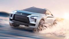 Mitsubishi e-Evolution Concept : le futur électrique et sportif de la marque