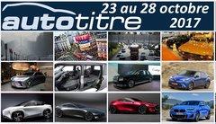 Résumé Auto Titre du 23 au 28 octobre 2017