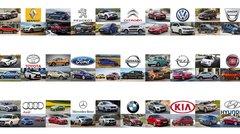 Le classement des immatriculations de chaque constructeur en France en 2017