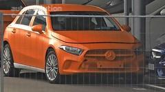 Surprise : la nouvelle Mercedes Classe A à nu