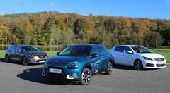 Comparatif : La Citroën C4 Cactus face aux Renault Mégane et Peugeot 308