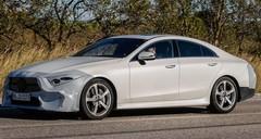 La nouvelle Mercedes CLS (presque) sans camouflage