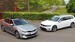 Essai Kia Optima PHEV vs Volkswagen Passat GTE : Sur tous les fronts !