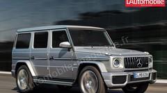 Les futurs SUV et 4x4 Mercedes en images