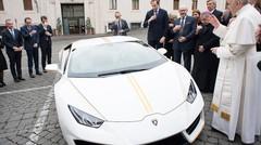 Buzz Lamborghini Huracan : après la police, le pape
