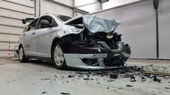 Sécurité routière : un crash-test pour sensibiliser au port de la ceinture