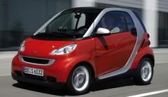 La Smart Fortwo en tête des 10 voitures les plus volées entre juillet 2016 et juin 2017